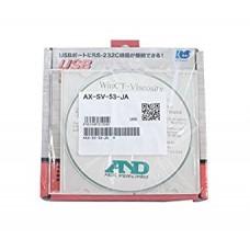 Набор для подключения к компьютеру (WinCT-Viscosity, кабель COM 25 pin - 9 pin, конвертер COM порт/USB) AX-SV-53