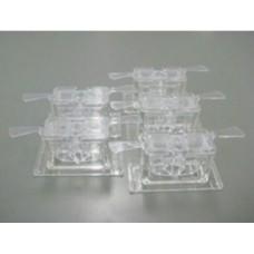 Держатель чаши для образцов 2 мл, поликорбанат, прозрачный. 5 шт AX-SV-56-1