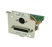 Выход компаратора со звуковым сигналом (RS-232C) выход токовая петля GX-04