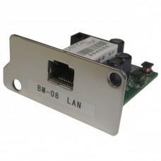 LAN-Ethernet интерфейс с WinCT-Plus программой ВМ-08