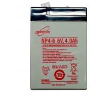 Герметичная перезаряжаемая батарея (6V, 4Ач)-HC-02i