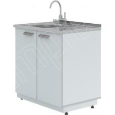 Мойка лабораторная ЛК-800 СМС (1 раковина, 1 смеситель)