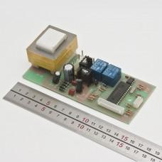 Плата блока питания СН-211м с трансформатором