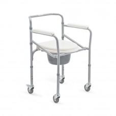 Кресло-коляска с санитарным оснащением для инвалидов «Armed»: FS693