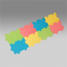 К-811(нов.упак.)коврик массажный для профилактики и лечения плоскостопия(с года до 2-х лет)
