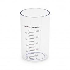 Банка пластиковая 1 л для отсасывателя Армед (Емкость для сбора аспирационных жидкостей Armed  J7E)