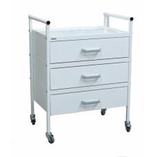 Стол медицинский с выдвижными ящиками Э-047/3-СПЭ