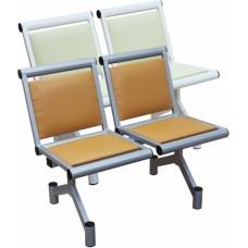Секция стульев двухместная мягкая
