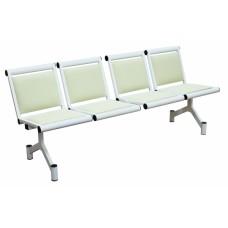 Секция стульев четырёхместная мягкая