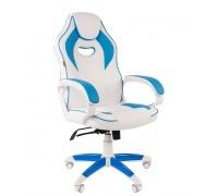 Кресло геймера CHAIRMAN-GAME-16-WHITE