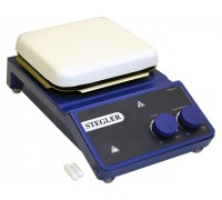Мешалка магнитная Stegler HS-Pro (с подогревом, +380 °С, 20 литров)