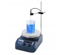Мешалка магнитная US-1500S (+280г°C, до 1500 об./мин., D=135 мм, до 3 л)