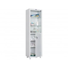 Медицинский шкаф одностворчатые HILFE МД 1 1650/SG