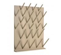 Сушильный стеллаж для крепления к стене