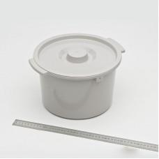 Емкость санитарная (горшок) с  крышкой к креслу-коляске Н021В
