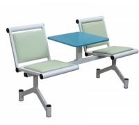 Секция стульев со столиком мягкая