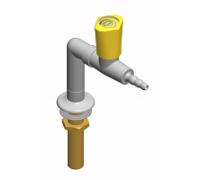 Кран для подвода газа